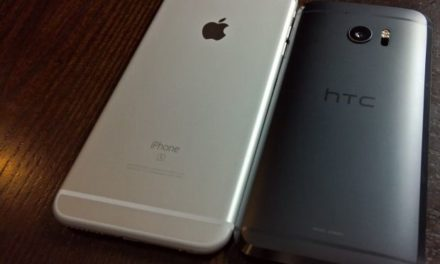 Comparing iPhone 6s Plus with HTC 10