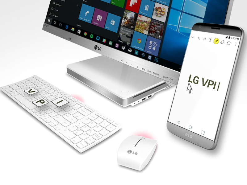 LG's New VPInput App; Control Phone From PC