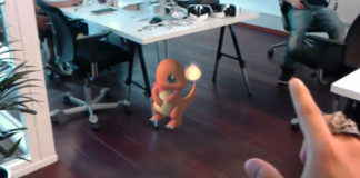 Pokémon Go Demo Video Appears For Microsoft HoloLens