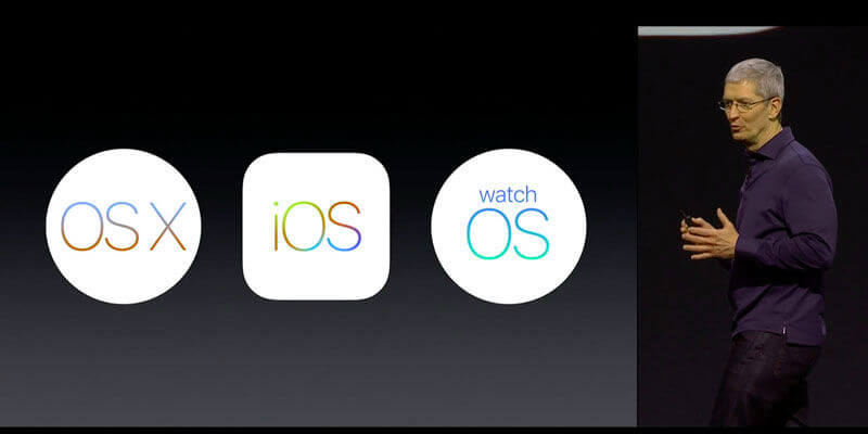 Apple iOS 10 and watchOS 3