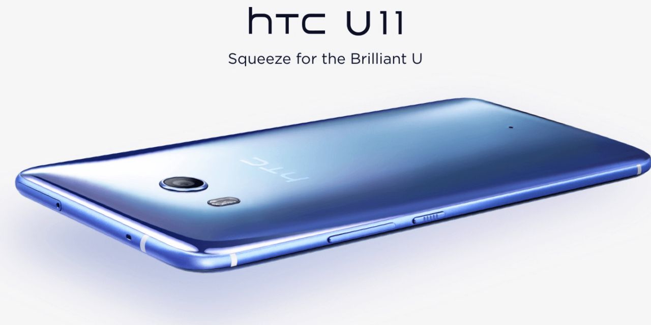 HTC presents Android's flagship U11