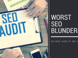 Top SEO Blunders You Must Avoid At Any Cost